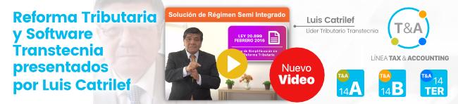 Transtecnia - Solución de Régimen Semi Integrado