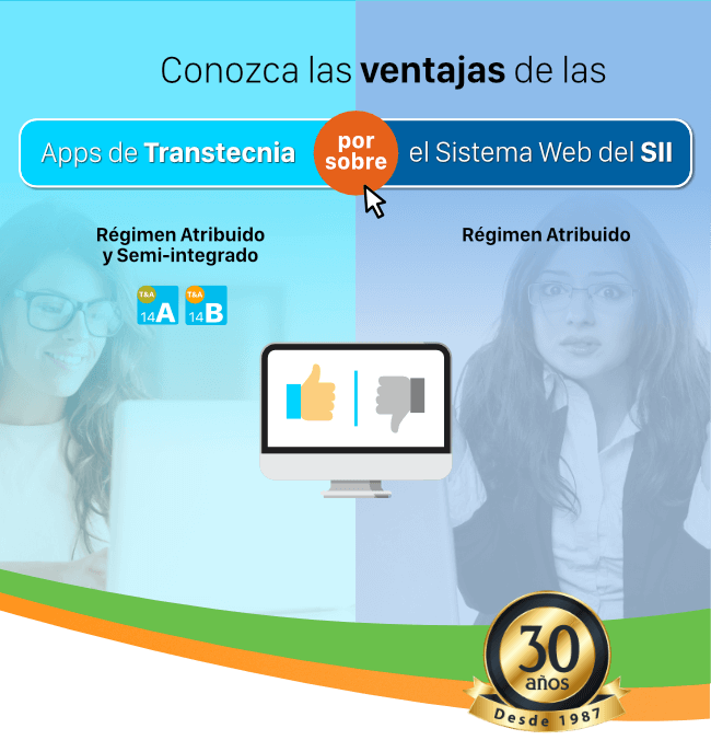 Demostrativo en video de las Apps Régimen 14A y 14B - Transtecnia