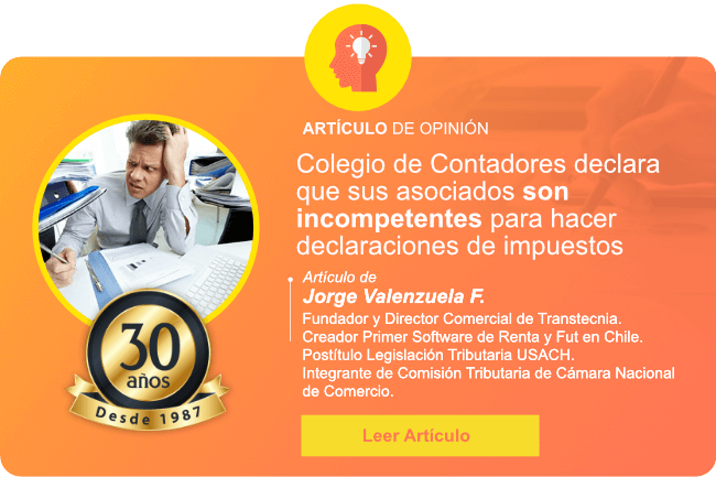 Colegio de Contadores declara que sus asociados son incompetentes para hacer declaraciones de impuestos