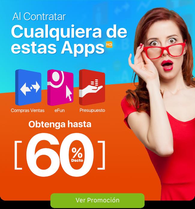 Transtecnia - Al contratar cualquiera de estas Apps obtenga hasta un 60% de descuento.