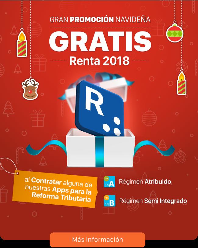 Transtecnia - Gran Promoción Navideña - GRATIS Renta 2018