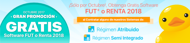 Transtecnia - Sólo por Octubre, Obtenga Gratis Software FUT^* o Renta 2018