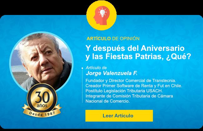 Transtecnia - Y después del Aniversario y las Fiestas Patrias, ¿Qué?