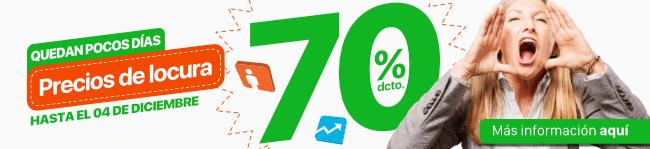 70% de descuento - Transtecnia