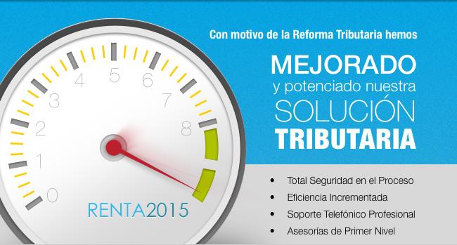 Hemos potenciado y mejorado nuestra Solución Tributaria AT 2015