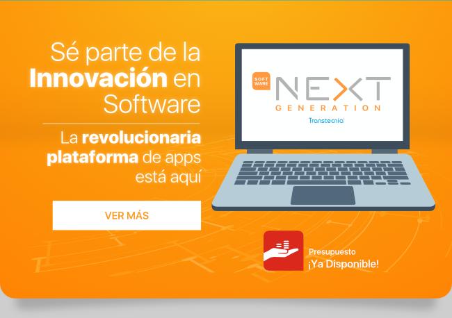 Plataforma Next Generation: S� parte de la innovaci�n en Software.