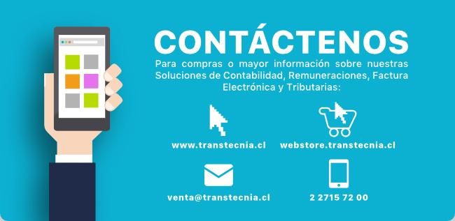 Contáctenos para compras o mayor información sobre nuestras Soluciones de Contabilidad, Remuneraciones, factura Electrñonica y Tributarias