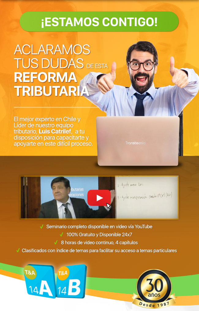 Transtecnia - Aclaramos tus dudas de esta Reforma Tributaria